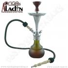 Vodní dýmka Aladin Bogota III 48 cm zelená
