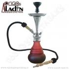 Vodní dýmka Aladin Bogota IV 48 cm červená