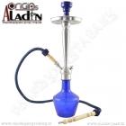 Vodní dýmka Aladin Damaskus 65 cm modrá