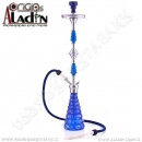 Vodní dýmka Aladin Dhaka 96 cm modrá