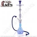 Vodní dýmka Aladin Kairo 83 cm modrá
