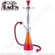 Vodní dýmka Aladin New York 77 cm červená
