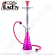 Vodní dýmka Aladin New York 77 cm fialová