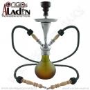 Vodní dýmka Aladin Numea II 48 cm zelená