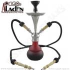 Vodní dýmka Aladin Numea III 48 cm červená