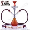 Vodní dýmka Aladin Numea III 48 cm oranžová