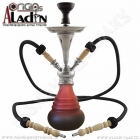 Vodní dýmka Aladin Numea IV 48 cm červená