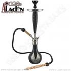 Vodní dýmka Aladin Bangkok II 75 cm černá