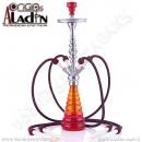 Vodní dýmka Aladin Havanna 78 cm červená