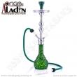 Vodní dýmka Aladin Istanbul 77 cm zeleno-žlutá