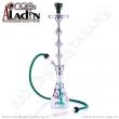 Vodní dýmka Aladin Manila 87 cm bílá