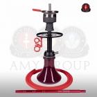 Vodní dýmka AMY Alu Buzz Bag - black red