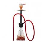 Vodní dýmka Amy Aero-X 039 70 cm red - RS black powder
