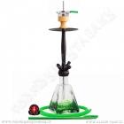 Vodní dýmka Amy Aero-X 039 70 cm green - RS black powde