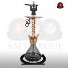 Vodní dýmka AMY Alu Diamond S 062 gold black