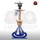 Vodní dýmka AMY Alu Diamond S 062 gold blue