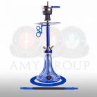 Vodní dýmka AMY Carbonica Lucid S SS31.02 blue blue