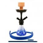 Vodní dýmka Amy Crazy Dots 760 blue RS Black Powder