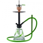 Vodní dýmka Amy Vega Klick II D 60 cm - green - RS Black Powder