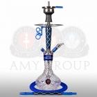 Vodní dýmka AMY X-Ray S 102.02 - blue clear