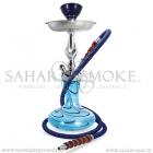 Vodní dýmka Sahara Smoke Genie Dicro modrá 38 cm