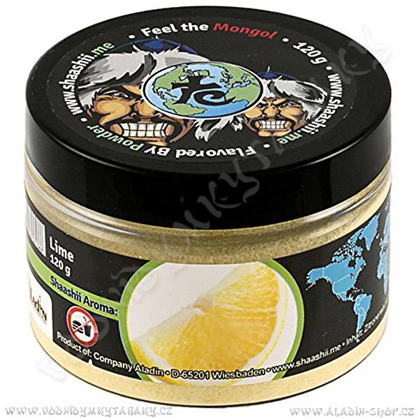 Shaashii Mongol aroma prášek Citrón 120 g