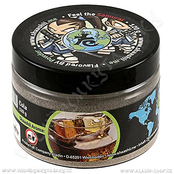 Shaashii Samurai aroma prášek Cola 120 g