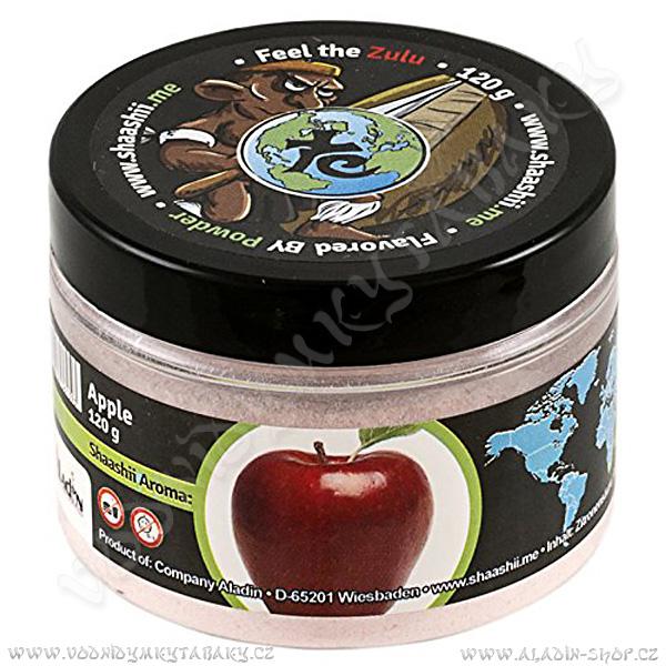 Shaashii Zulu aroma prášek Jablko 120 g