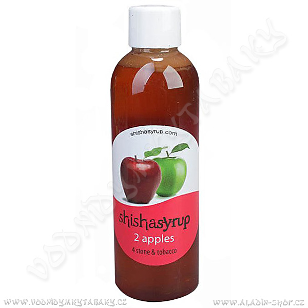 Aromatická kapalina ShishaSyrup Dvě jablka 100 ml