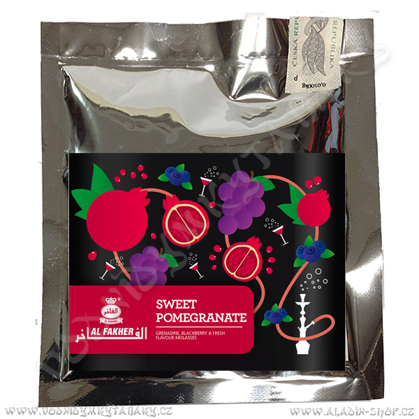 Tabák do vodní dýmky Al Fakher SE Sweet Pomegranate 50 g