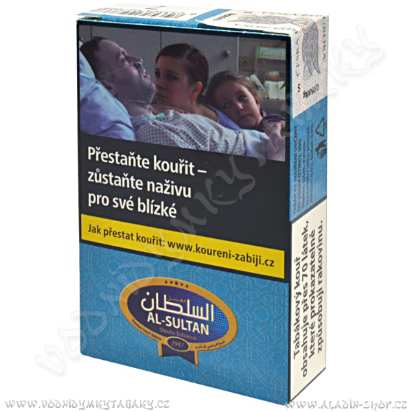 Tabák do vodní dýmky Máta 63 Al Sultan 50 g