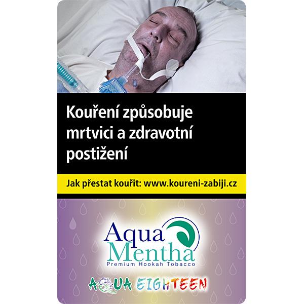 Tabák Aqua Mentha Eighteen 50 g