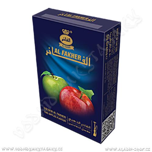 Tabák do vodní dýmky Dvě Jablka Gold Al Fakher 50 g