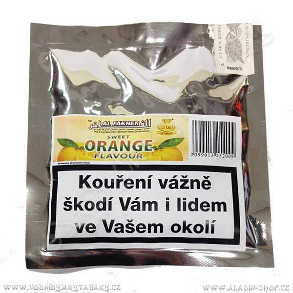 Tabák do vodní dýmky Al Fakher Herbal Pomeranč 50 g