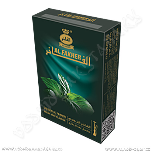 Tabák do vodní dýmky Fresh Mint Gold Al Fakher 50 g