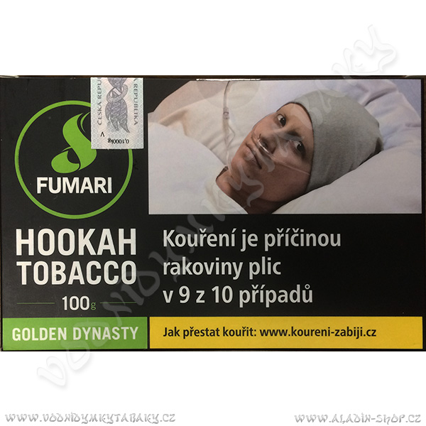 Tabák Fumari Golden Dynasty 100 g
