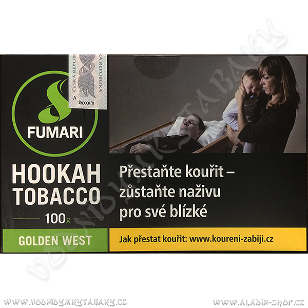 Tabák Fumari Golden West 100 g
