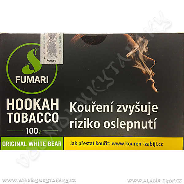 Tabák Fumari Original White Bear 100 g