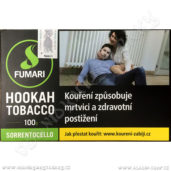 Tabák Fumari Sorrentocello 100 g