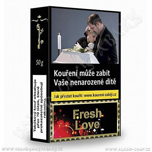 Tabák do vodní dýmky Golden Pipe Fresh Love 50 g