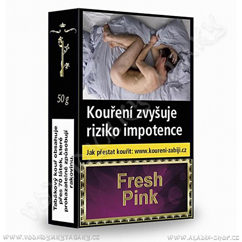 Tabák do vodní dýmky Golden Pipe Fresh Pink 50 g
