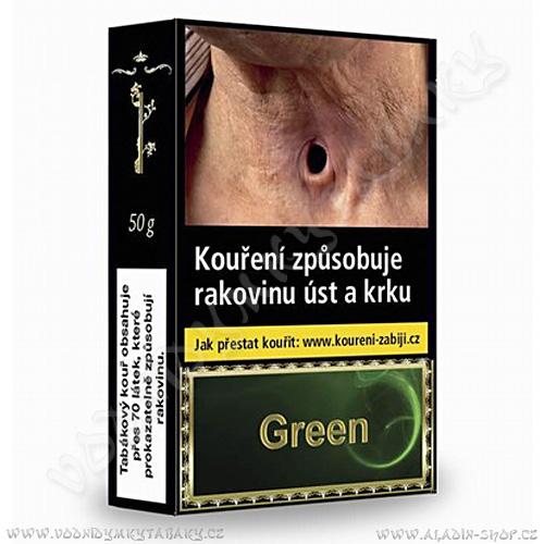 Tabák do vodní dýmky Golden Pipe Green 50 g