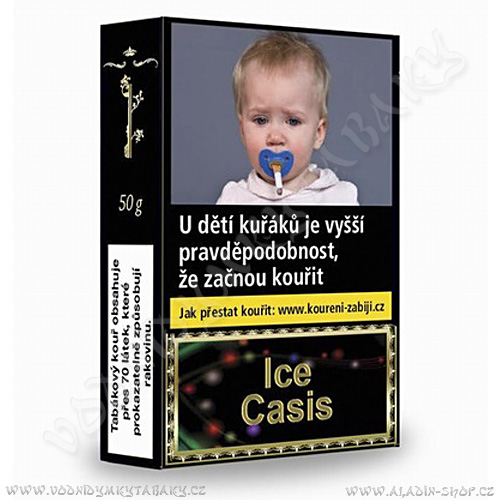 Tabák do vodní dýmky Golden Pipe Ice Cassis 50 g