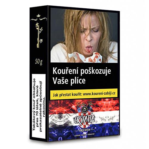 Tabák do vodní dýmky Golden Pipe World Edition Croatia 50 g