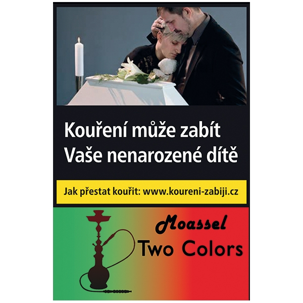 Tabák do vodní dýmky Two Colors Moassel 50 g