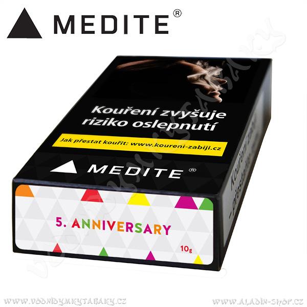 Tabák do vodní dýmky Medité 5. Anniversary 10 g Gastro