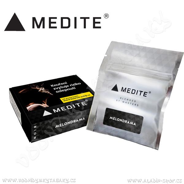 Tabák Medité NOIR Fusion Melondrama 50 g