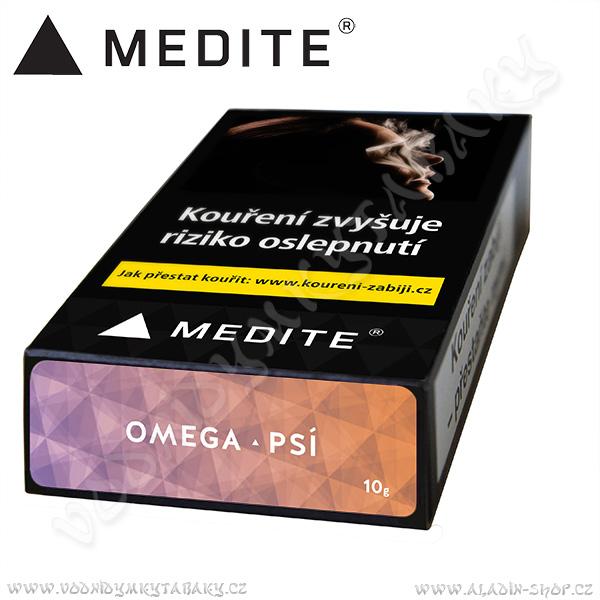 Tabák do vodní dýmky Medité Omega Psí 10 g Gastro