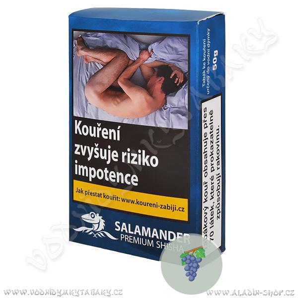 Tabák Salamander Premium Black Grip 50 g