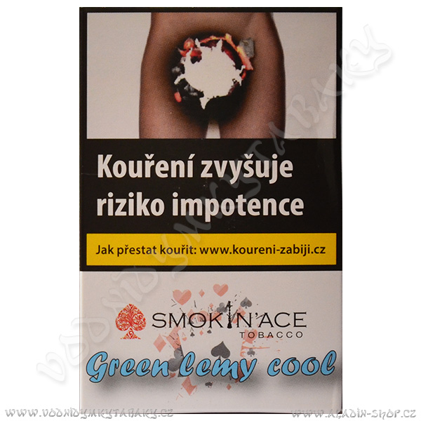 Tabák Smokin´Ace Green Lemy Cool 50 g